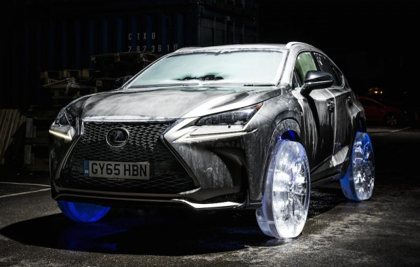 Lexus NX Ice Wheels 600x381 at Lexus NX Gets Ice Wheels for No Good Reason