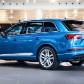 Long Beach Blue Audi Q7-2