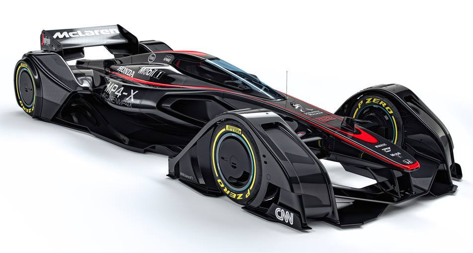 McLaren MP4 X 0 at McLaren MP4 X Previews F1 Cars of Tomorrow