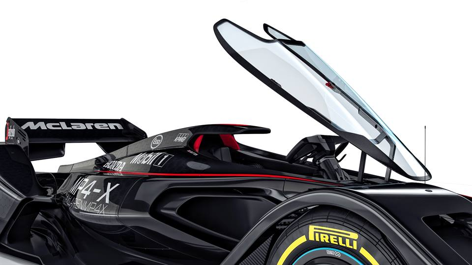 Mclaren Mp4 X Previews F1 Cars Of Tomorrow
