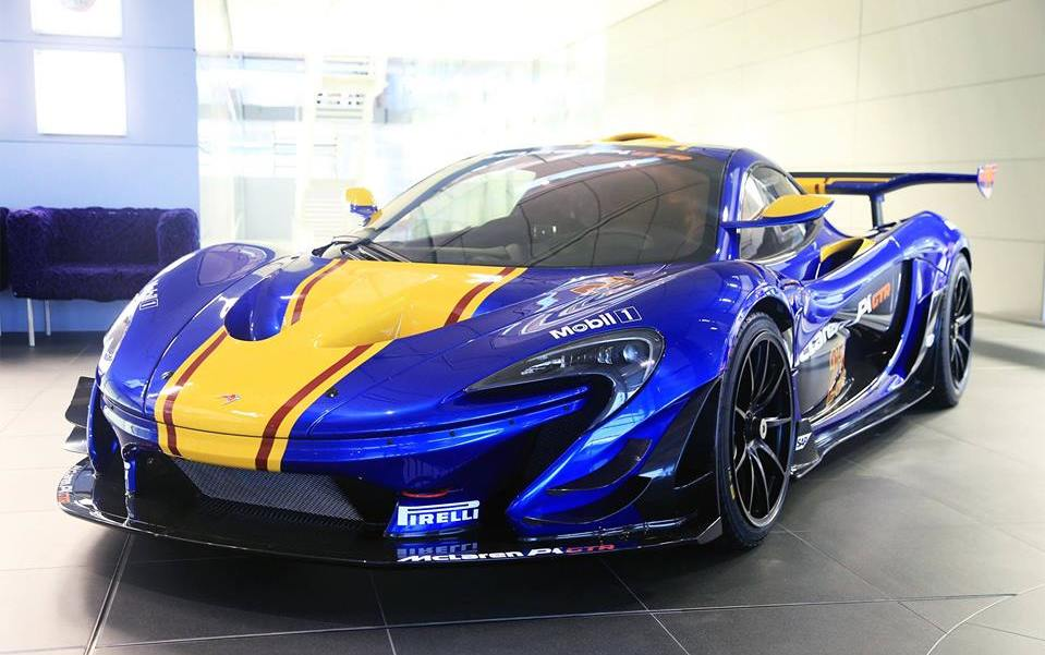 mclaren p1 gtr in a bunch of new liveries