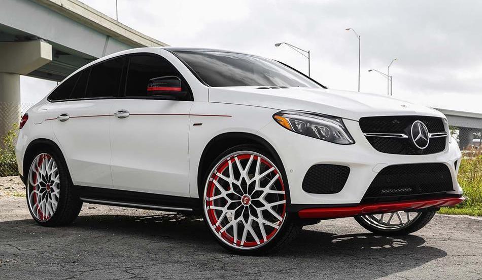 Ri-donk-ulous: Mercedes GLE on Forgiato Wheels