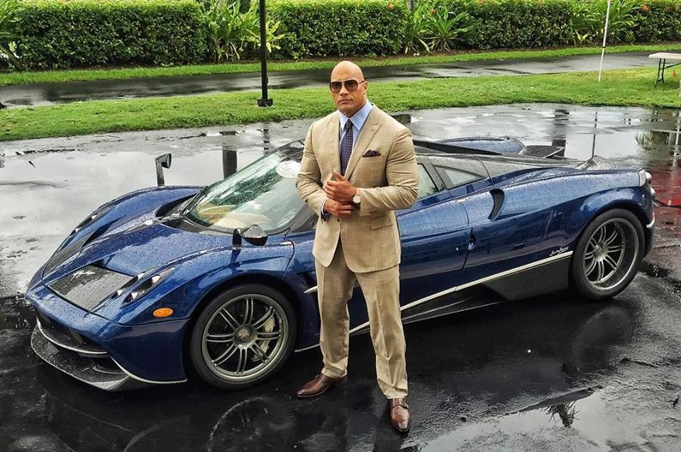 What Car Does Dwayne Johnson Drive In Ballers