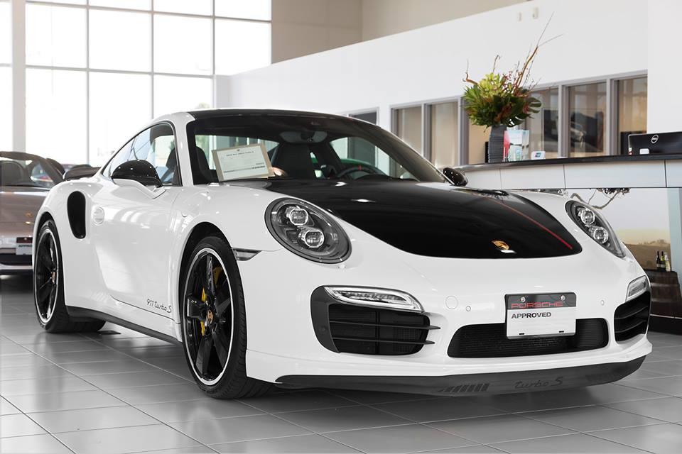 Porsche 991 Turbo S Exclusive For Pfaff