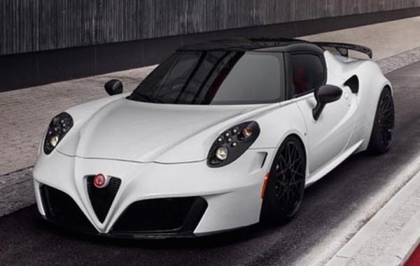 Pogea Racing Alfa Romeo 4C.002 Centurion