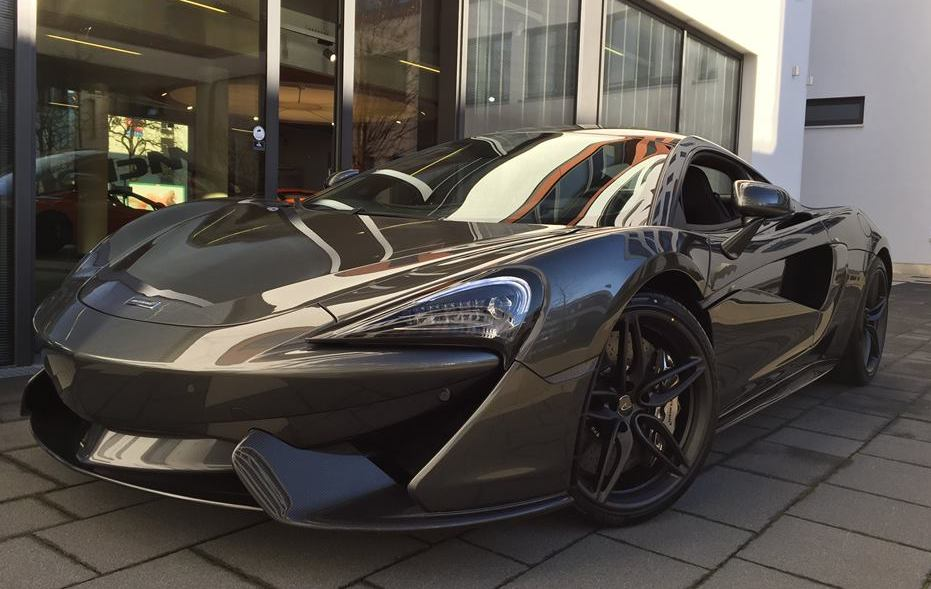 Spotlight Storm Grey McLaren 570S