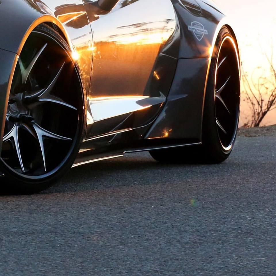 Corvette Stingray Widebody By Ivan Tampi Customs