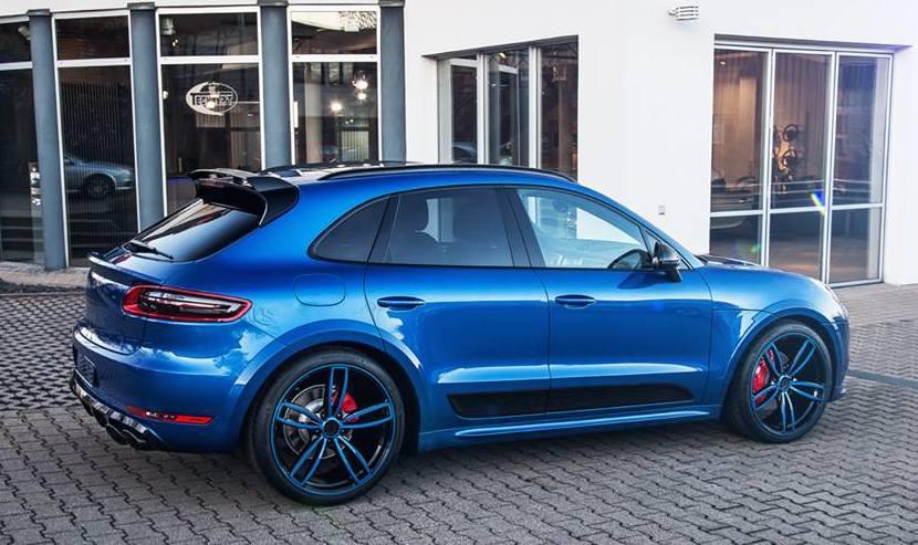 Techart Porsche Macan Looks Great In Blue