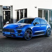 Techart Porsche Macan-Blue-1