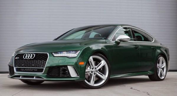Verdant Green Audi RS7-0