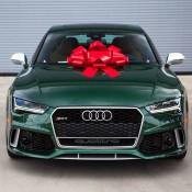 Verdant Green Audi RS7-1