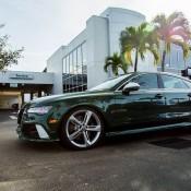 Verdant Green Audi RS7-10