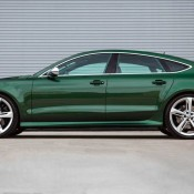 Verdant Green Audi RS7-8