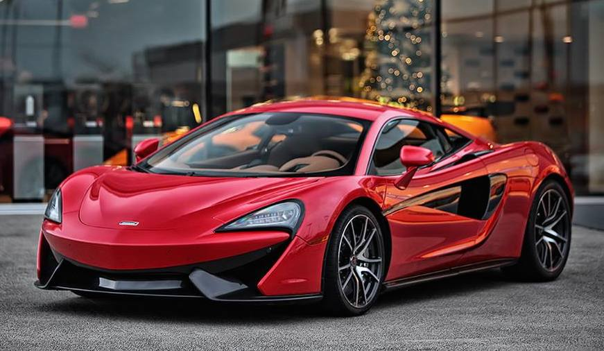 Mclaren P1 Orange >> Gallery: Vermillion Red McLaren 570S