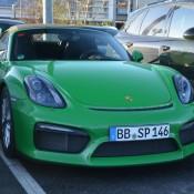 Viper Green Porsche Boxster Spyder-4