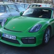 Viper Green Porsche Boxster Spyder-5