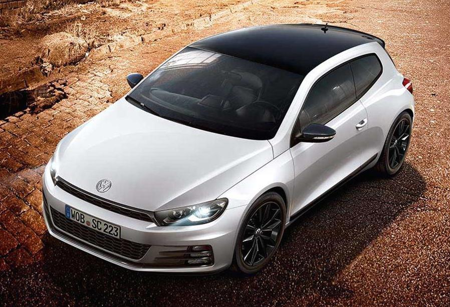 official volkswagen scirocco black edition. Black Bedroom Furniture Sets. Home Design Ideas