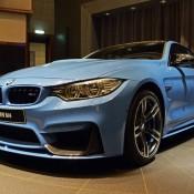 Yas Marina Blue BMW M4-1