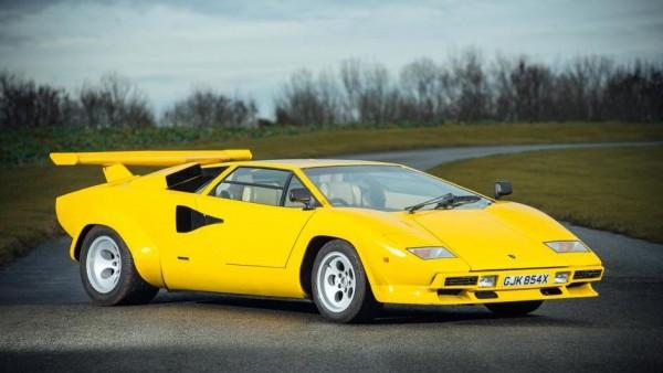 1981 Lamborghini Countach-1