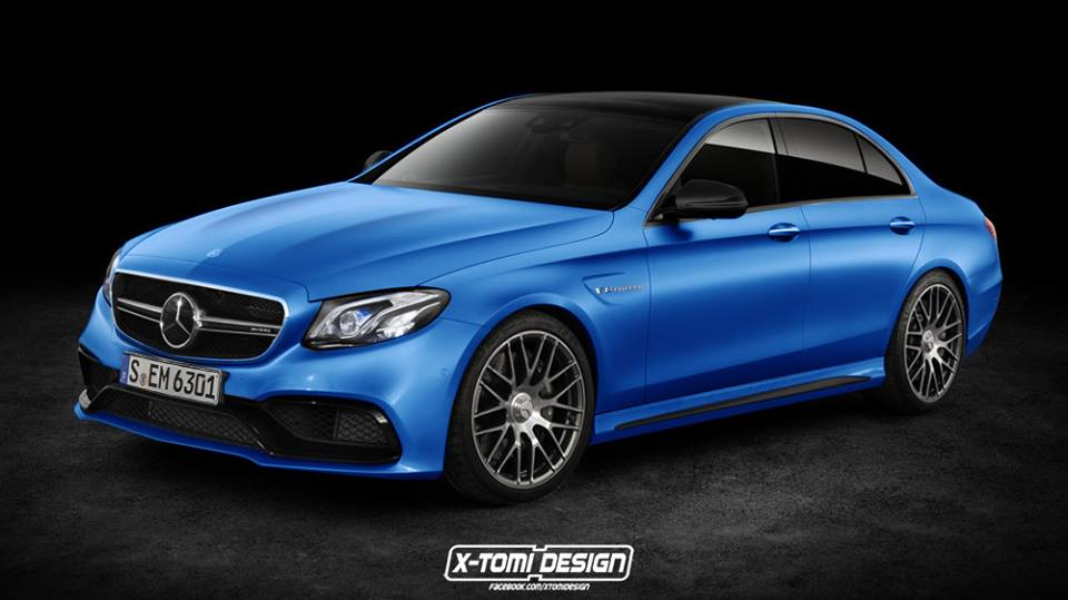 This is what 2017 mercedes amg e63 may look like for Mercedes benz e class amg 2017