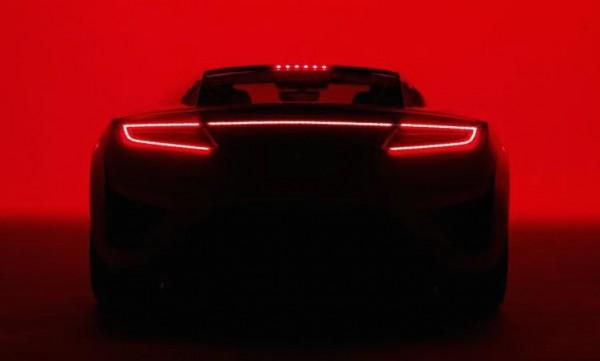 Acura NSX Super Bowl
