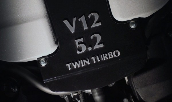 Aston Martin V12 Twin Turbo