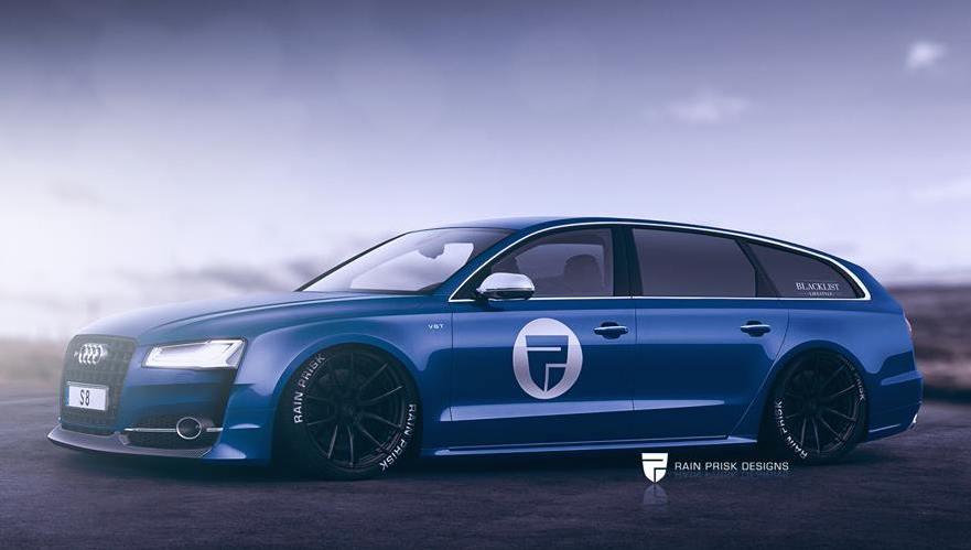 Rendering Audi S8 Wagon