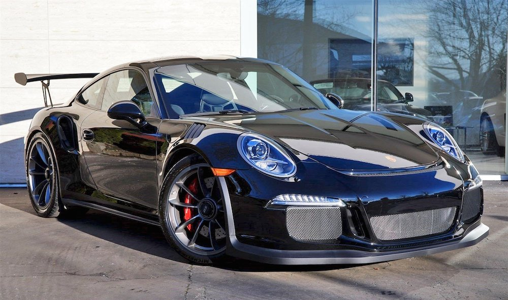Gallery: Porsche 991 GT3 RS in Black - Motorward