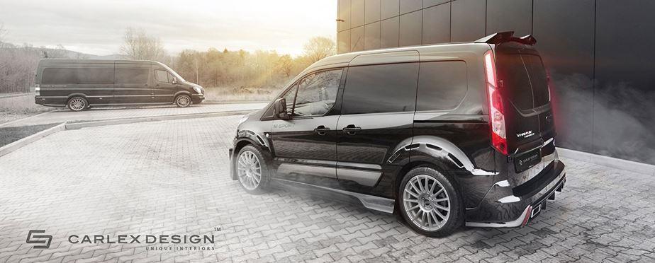 Custom Ford Transit By Carlex Design