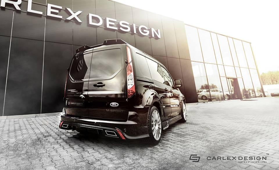 custom ford transit by carlex design. Black Bedroom Furniture Sets. Home Design Ideas