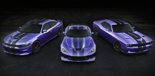 Dodge Hellcat stripe