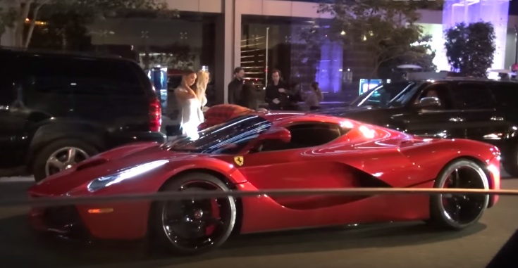 Lewis Hamilton Justin Bieber at Lewis Hamilton Hangs Out with Justin Bieber in His LaFerrari