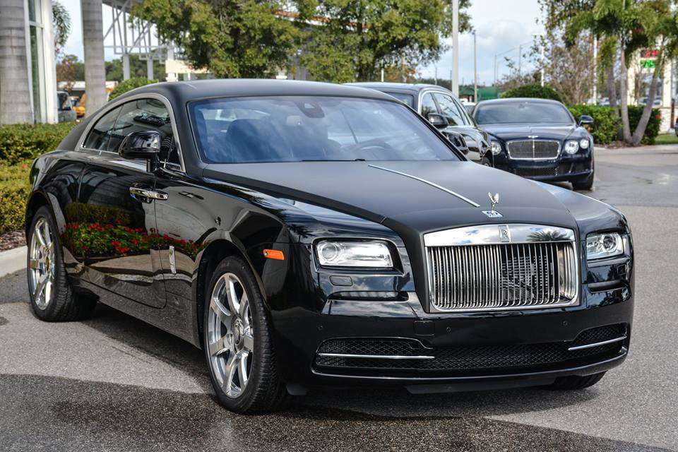 Volvo Of Tampa >> Cool: Matte Black Rolls-Royce Wraith
