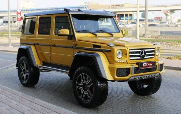Mercedes G500 4x4²-Alain-0