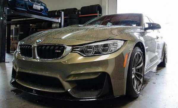 Messing Metallic BMW M3-0