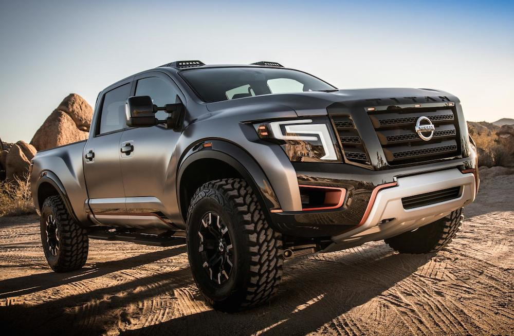 2016 naias nissan titan warrior concept. Black Bedroom Furniture Sets. Home Design Ideas