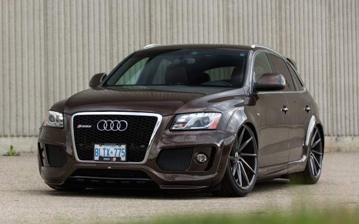 pfaff audi q5 on vossen wheels. Black Bedroom Furniture Sets. Home Design Ideas