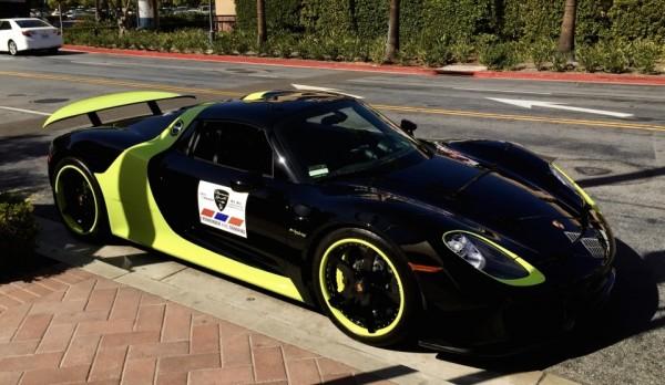 Porsche 918 green-livery-0