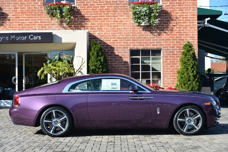 Gallery: Purple Silk Rolls-Royce Wraith  |Covenant Wraith Purple