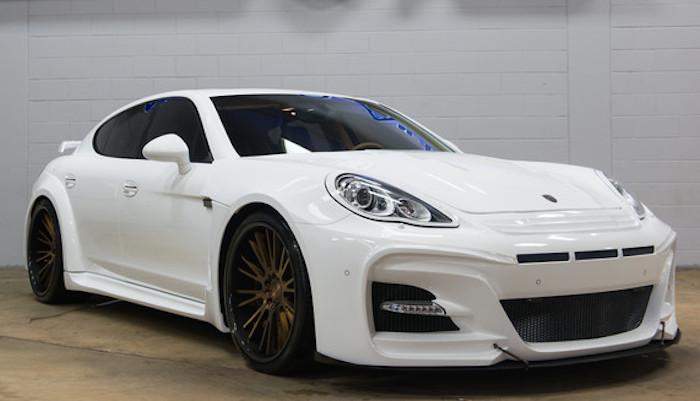 Custom Porsche Panamera Turbo By Ultimate Auto