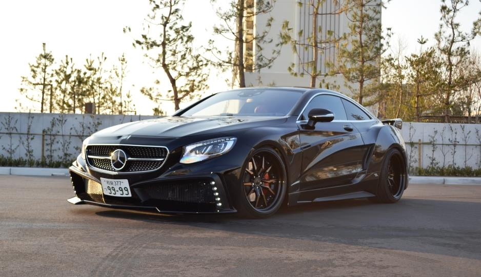 tuningcars official vitt mercedes s class coupe. Black Bedroom Furniture Sets. Home Design Ideas