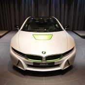 White Java Green BMW i8-1