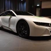 White Java Green BMW i8-4