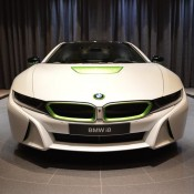 White Java Green BMW i8-5