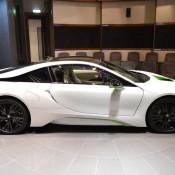 White Java Green BMW i8-6