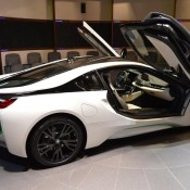 White Java Green BMW i8-8