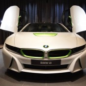 White Java Green BMW i8-9