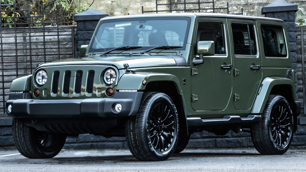 Jeep Wrangler Sahara Cj300 By Kahn Design