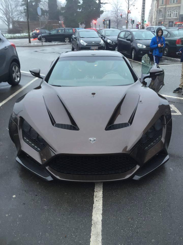 Zenvo St1 Price >> Zenvo ST1 Spotted in the Wild