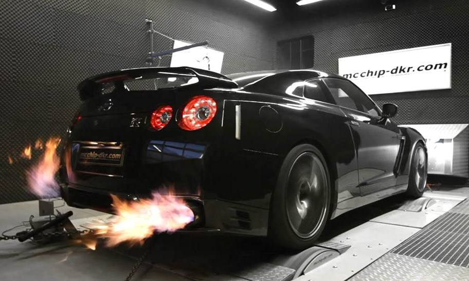 Tuningcars Mcchip Dkr Reveals 1000 Hp Nissan Gt R